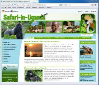 Homepage Safari-in-Uganda.com